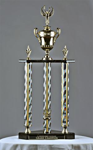 Card/Board League trophy